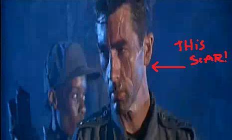 John Connor Scar